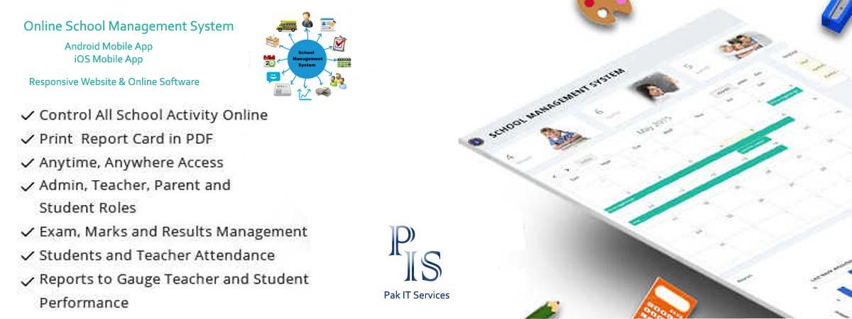 Online School Management System - Pak IT Services